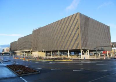 Stuttgart Flughafen Parkhaus P14 Fassade
