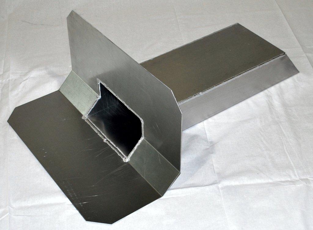 Rund 45° Klebeplatte für Randkeil 50 x50 mm
