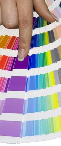 Farbauswahl bei der Pulverbeschichtung